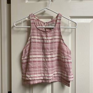 • Anthropologie • Pink Tank Top